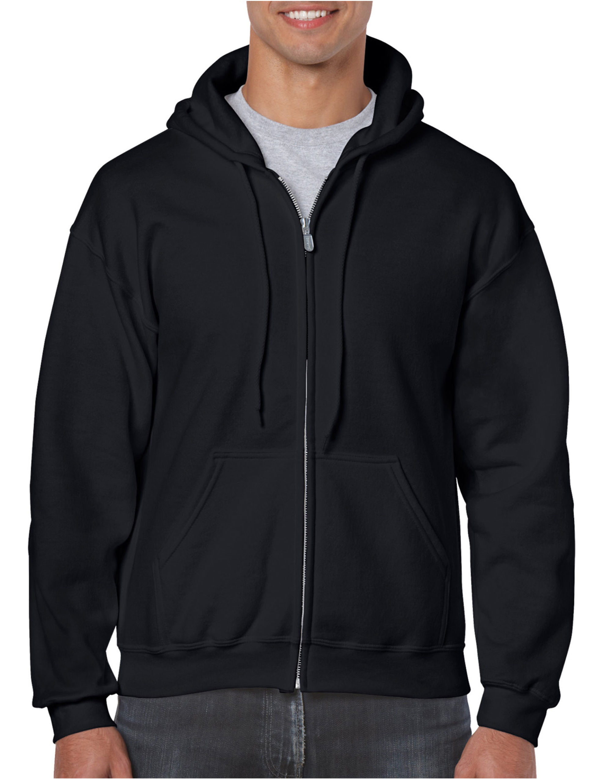 Gildan Adult Full Zip Hooded Sweatshir...
