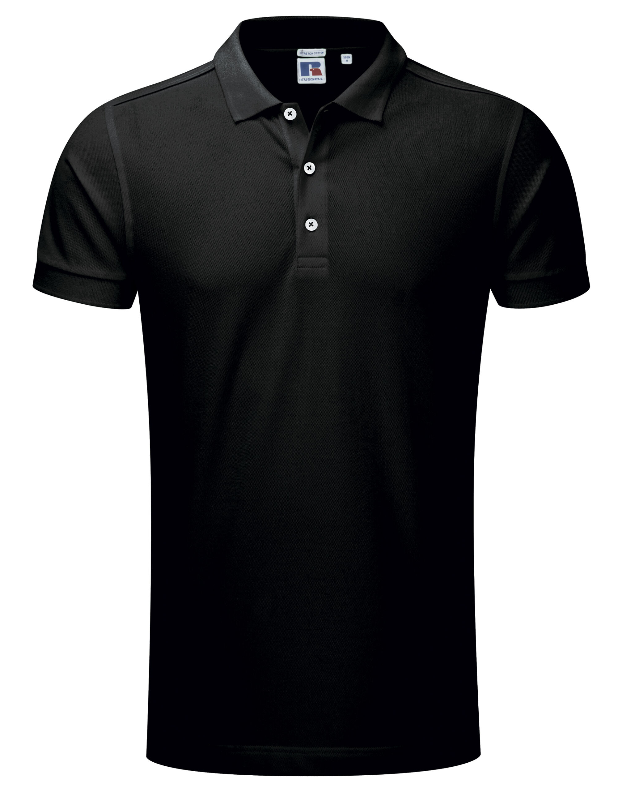 Russell Mens Stretch Polo