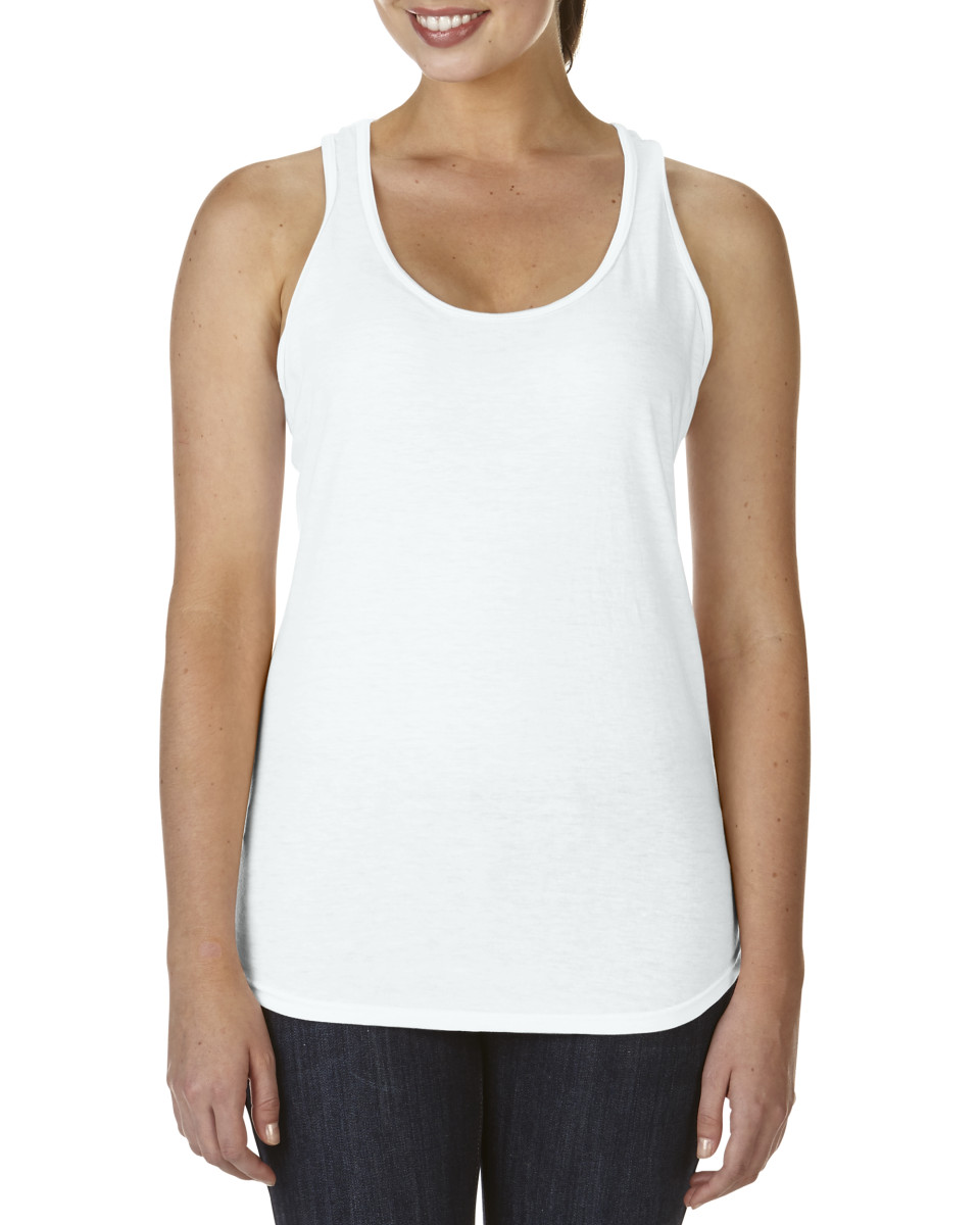 Anvil Womens Tri-blend Racerback Tank