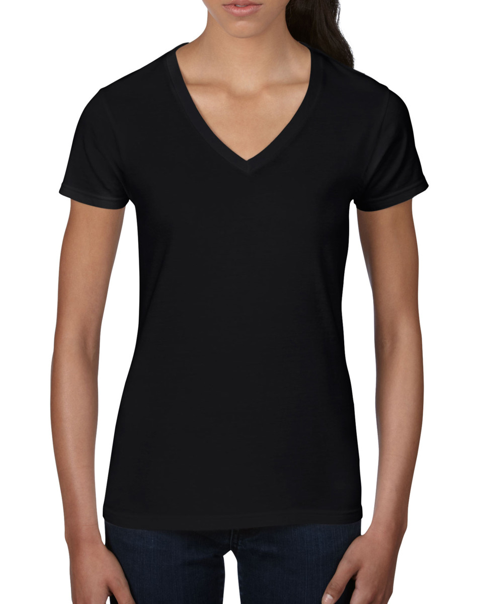Anvil Ladies V Neck Fashion T-shirt