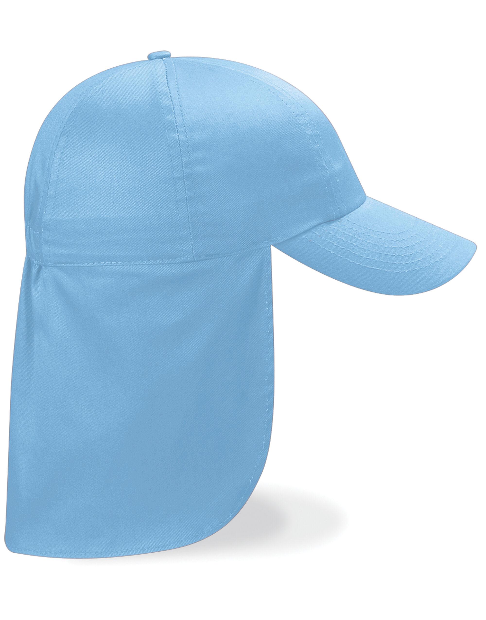 Beechfield Junior Legionnaire Style Cap Caps /& Hats Etc All Sizes and Colours