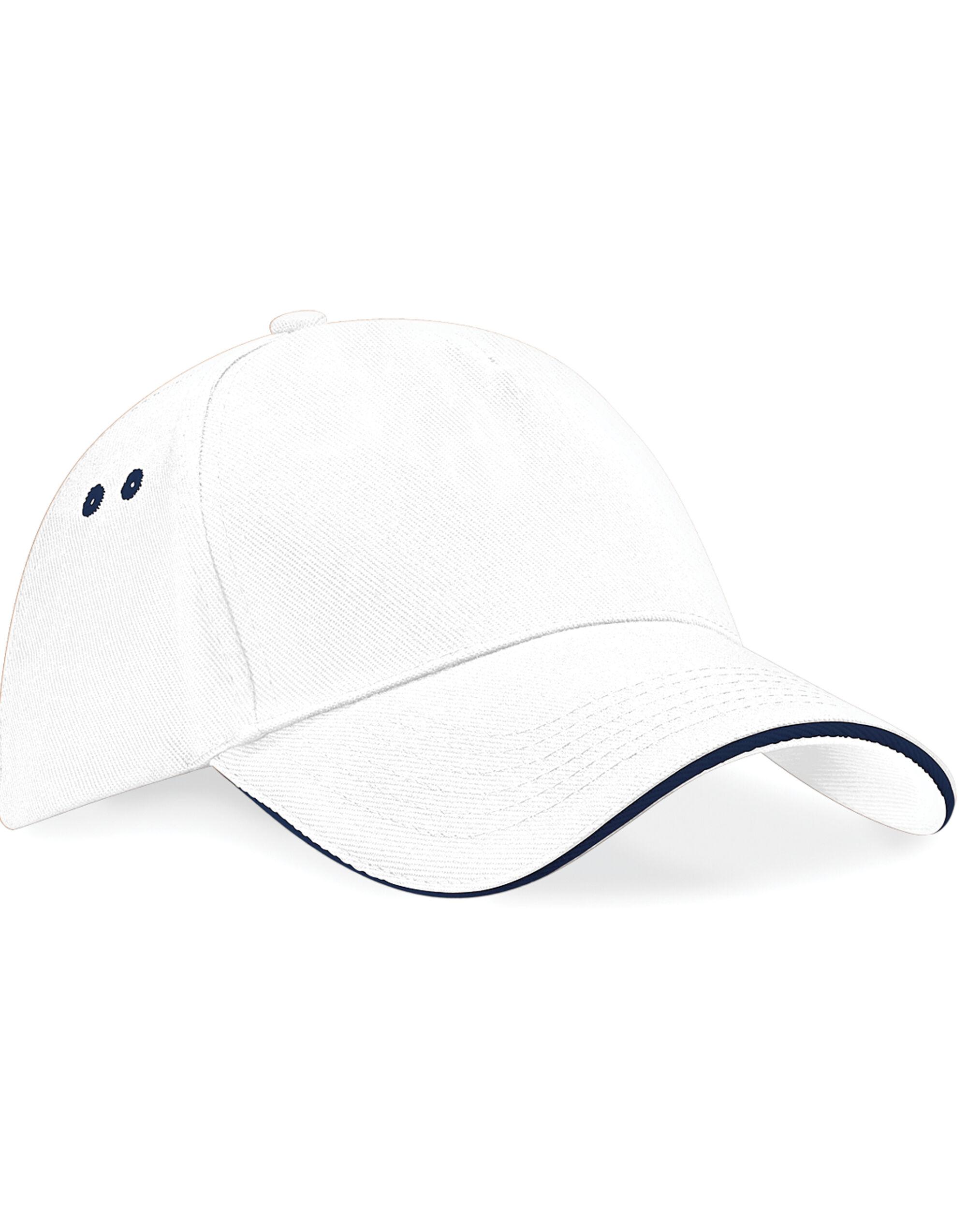 a5965baefe6 Beechfield Ultimte Sandwich Peak Cap Caps   Hats Etc All Sizes and ...