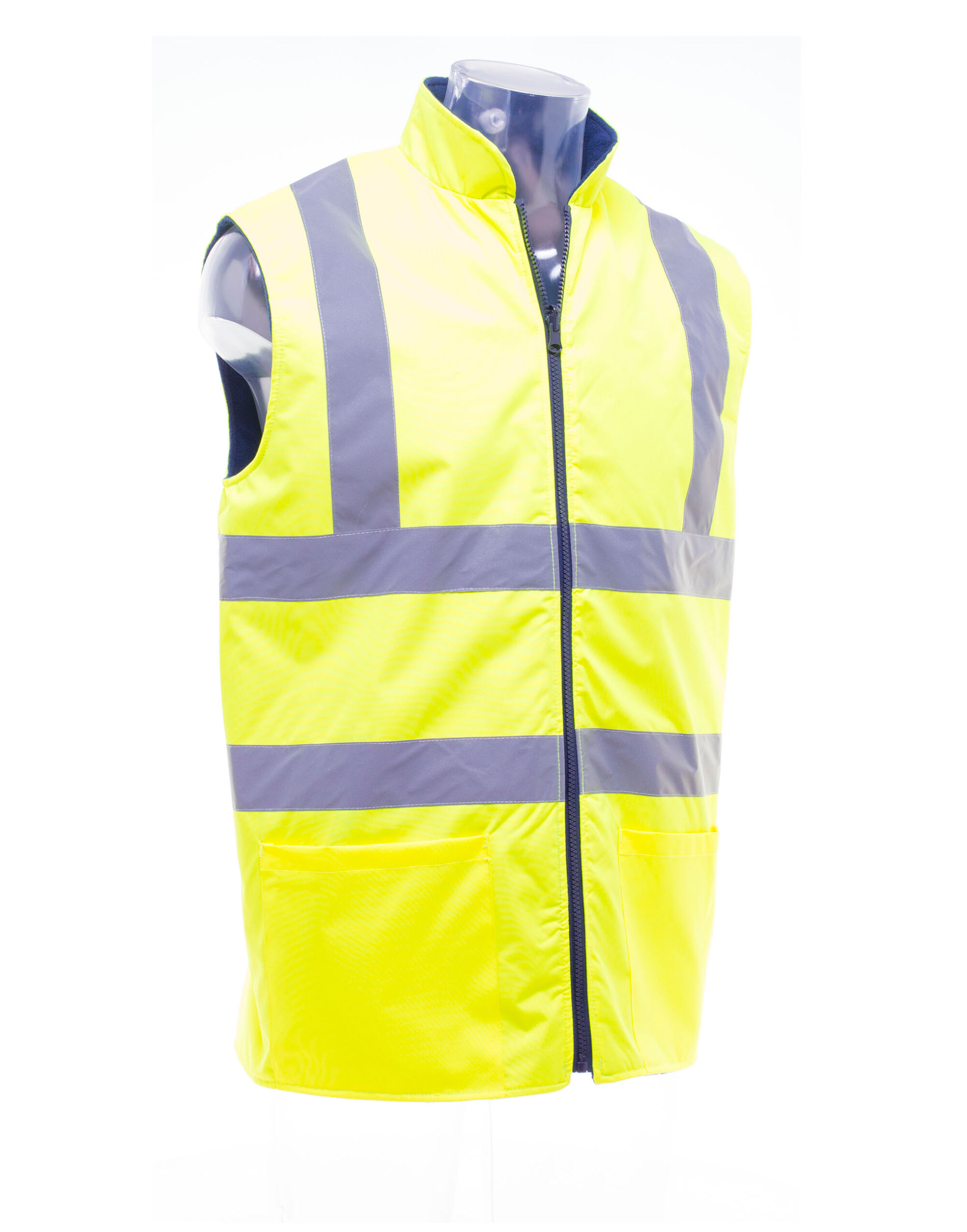 Hi-vis Reversible Fleece Vest
