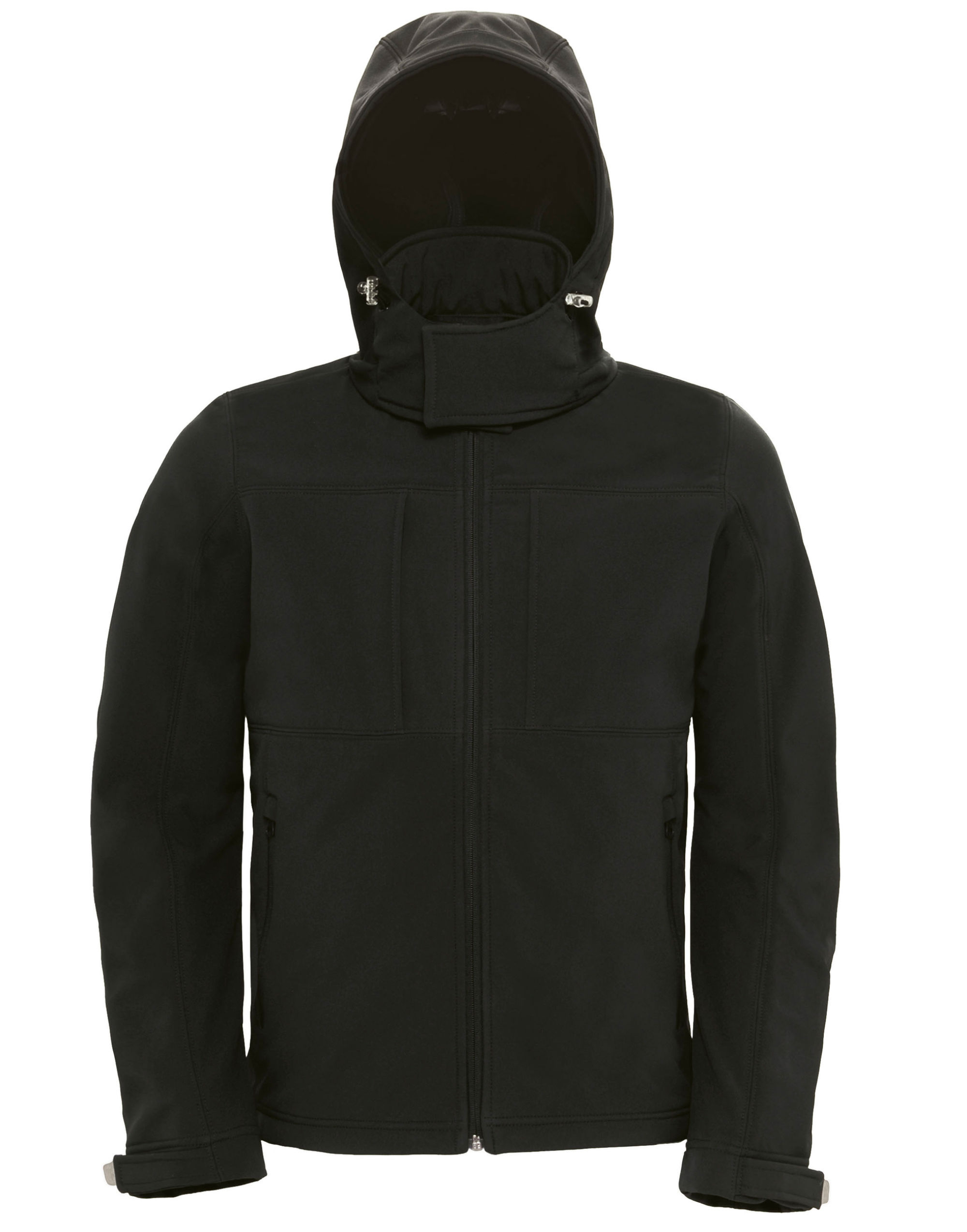 B&c Men's Hooded Softshell