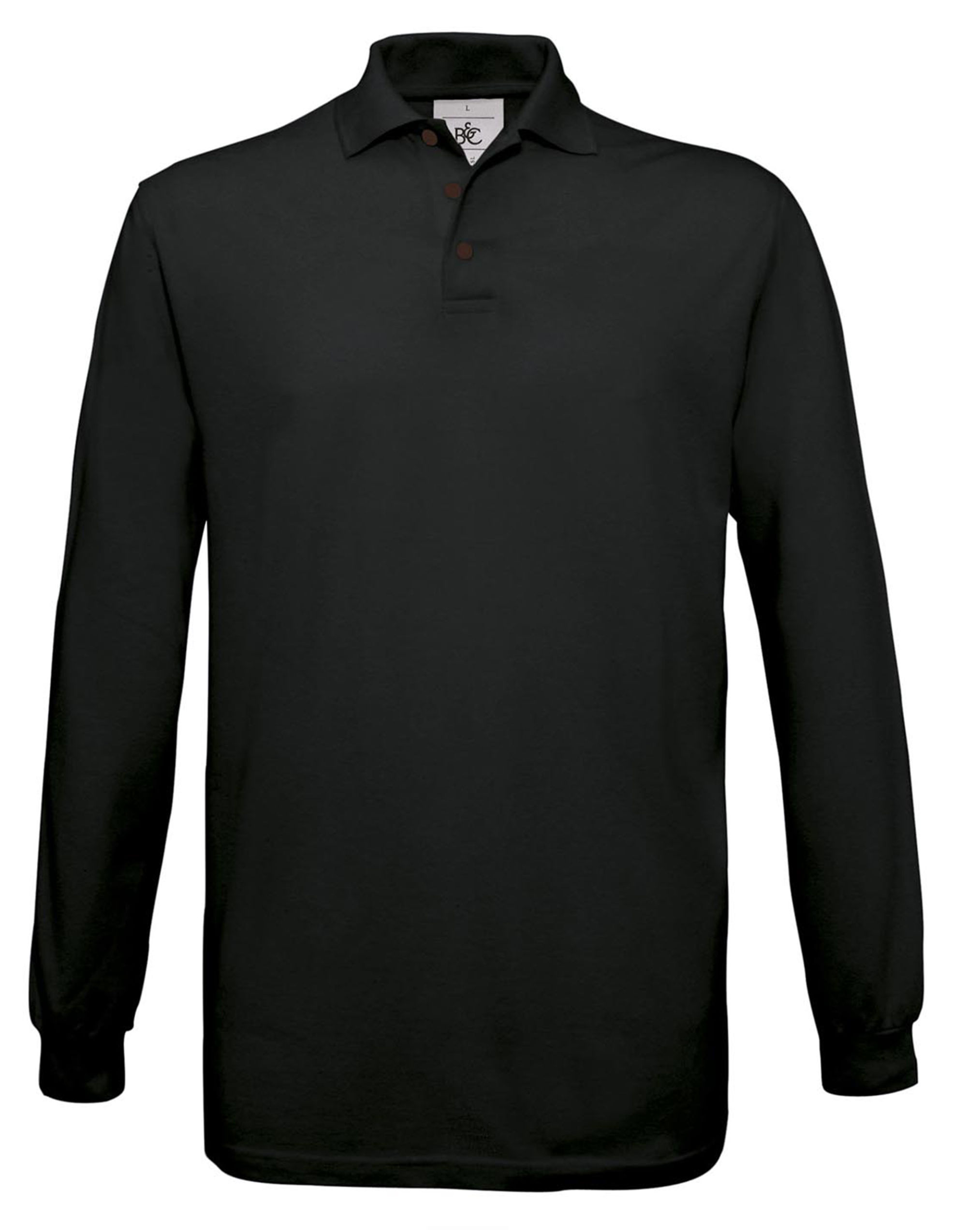 B&c Safran L/sleeve Polo Shirt