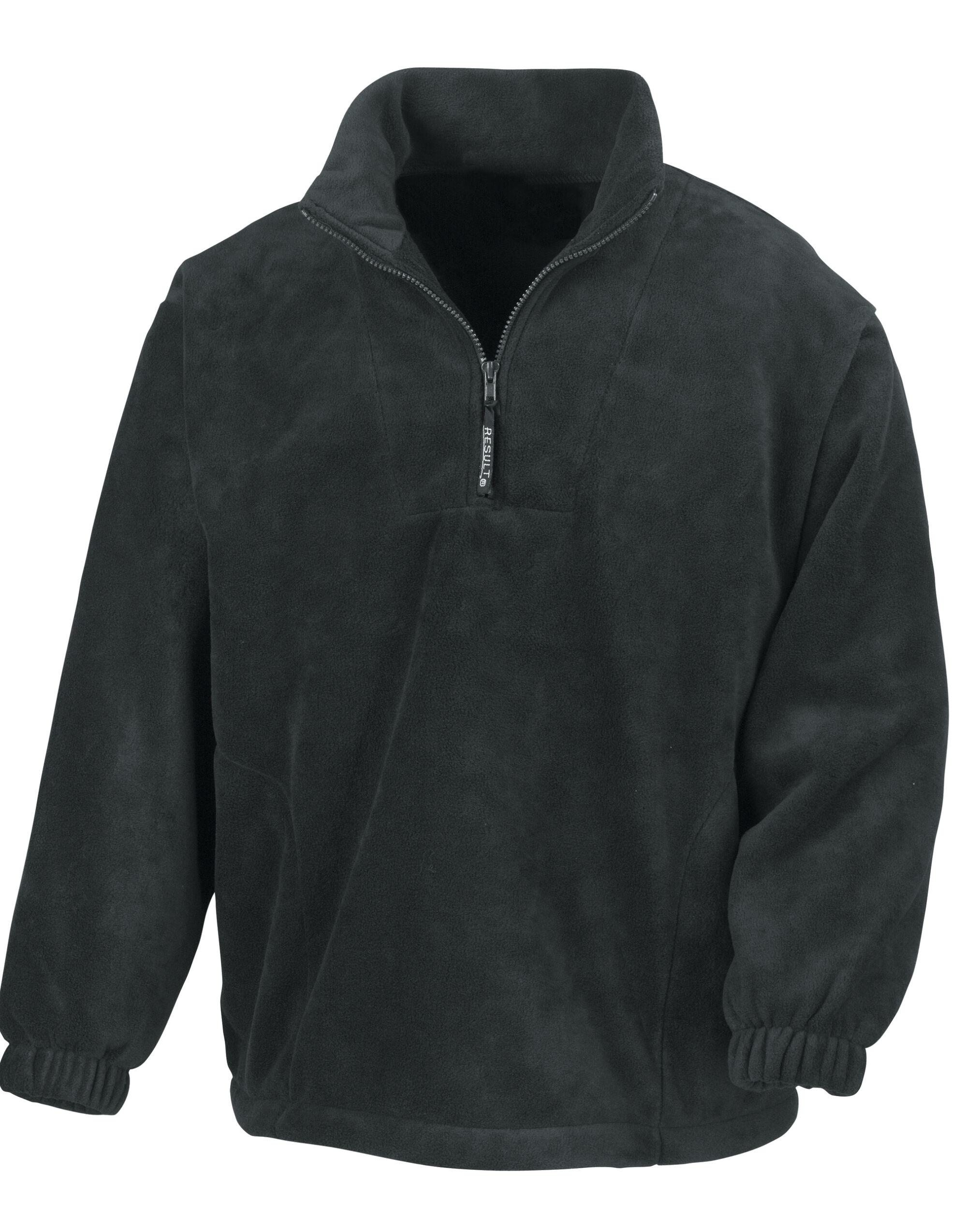 Unlined Active 1/4 Zip Fleece Top