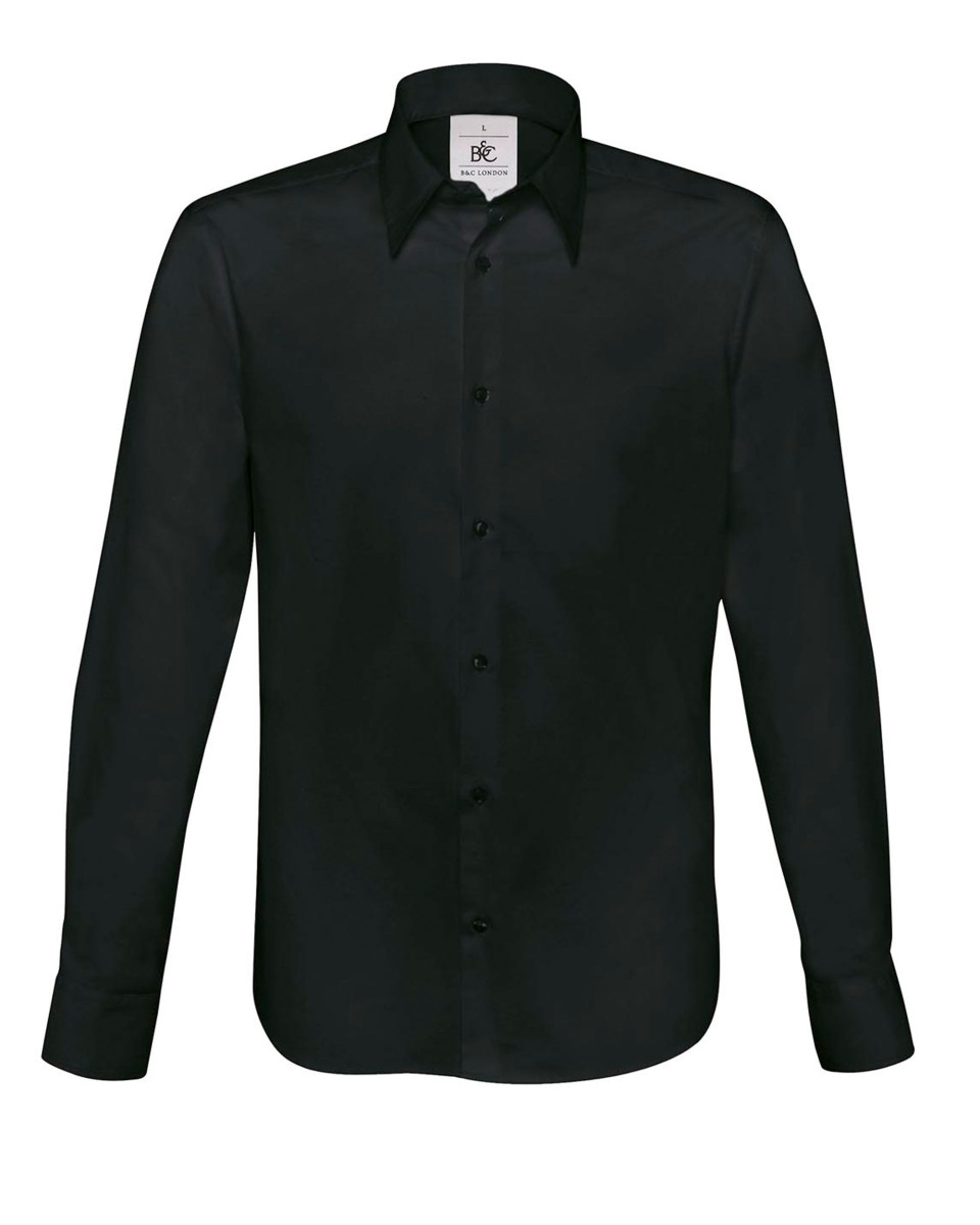 B&c London Mens Poplin Shirt