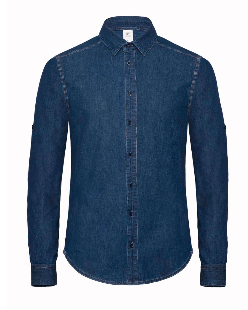 B&c Dnm Vision Mens Denim Shirt