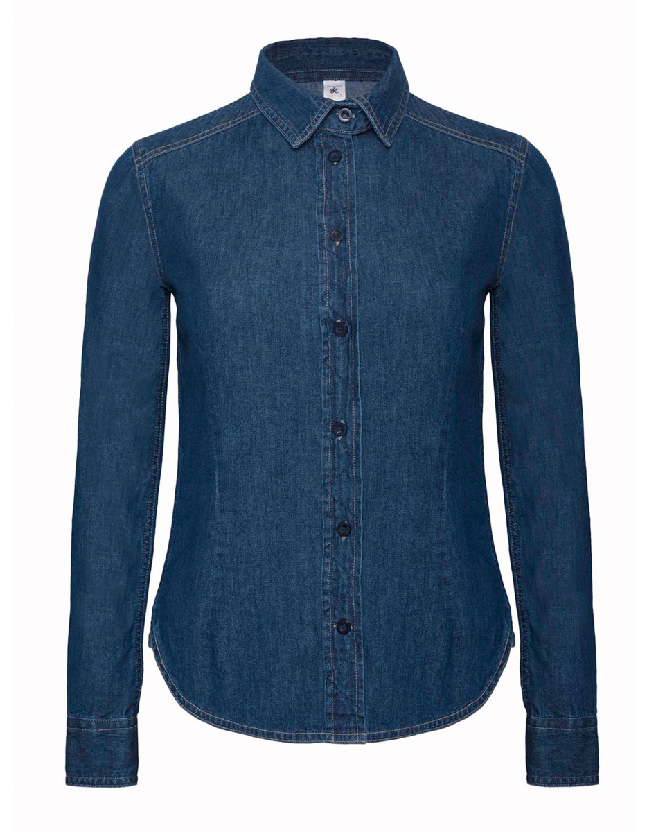 B&c Dnm Vision Womens Denim Shirt