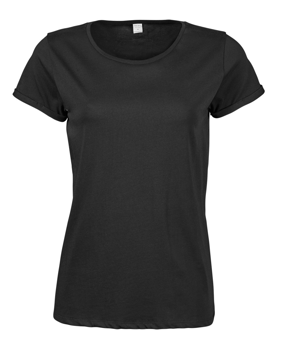 Tee Jays Ladies Roll Up Sleeve Tee