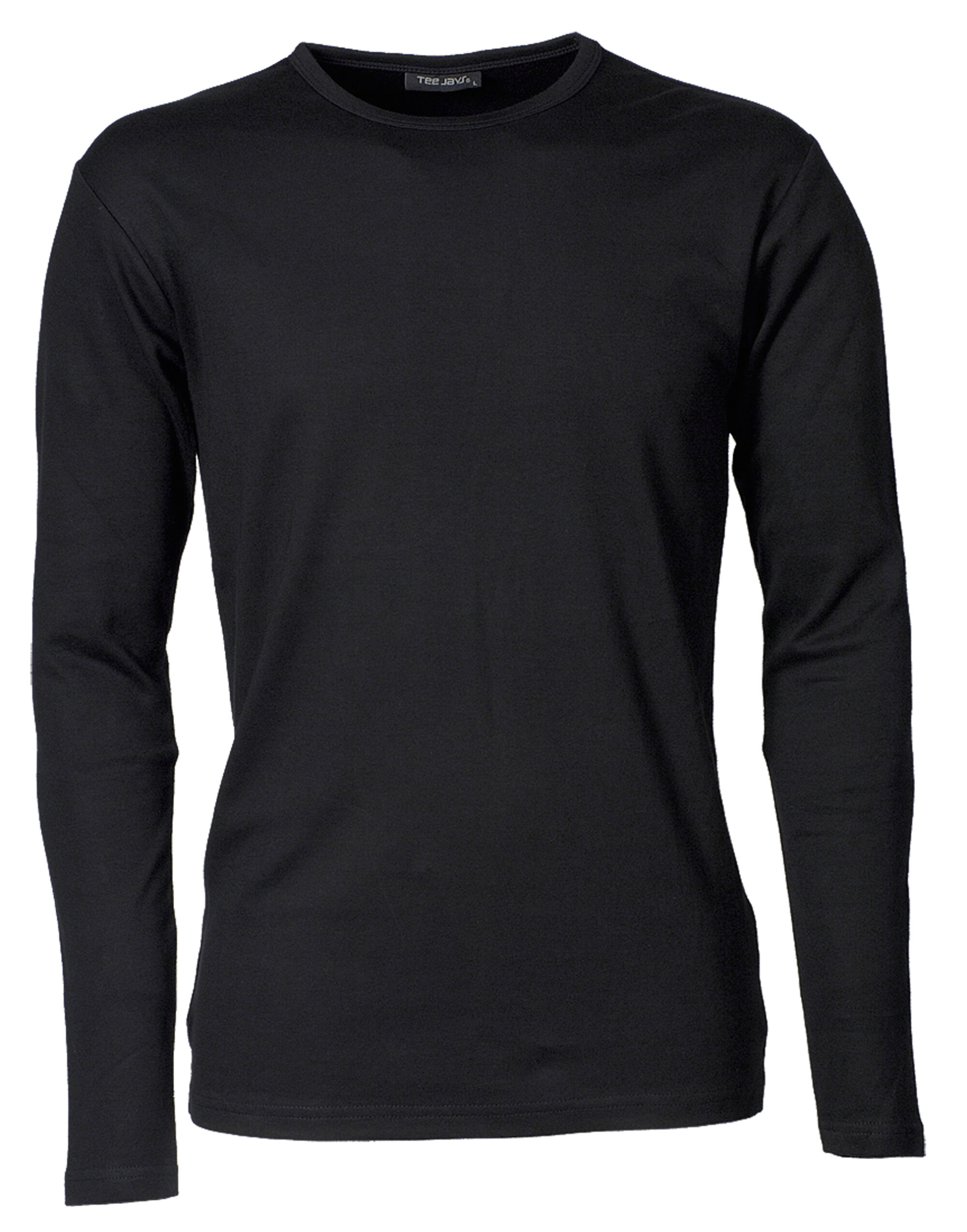 Tee Jays Mens Long Sleeve Interlock Te...