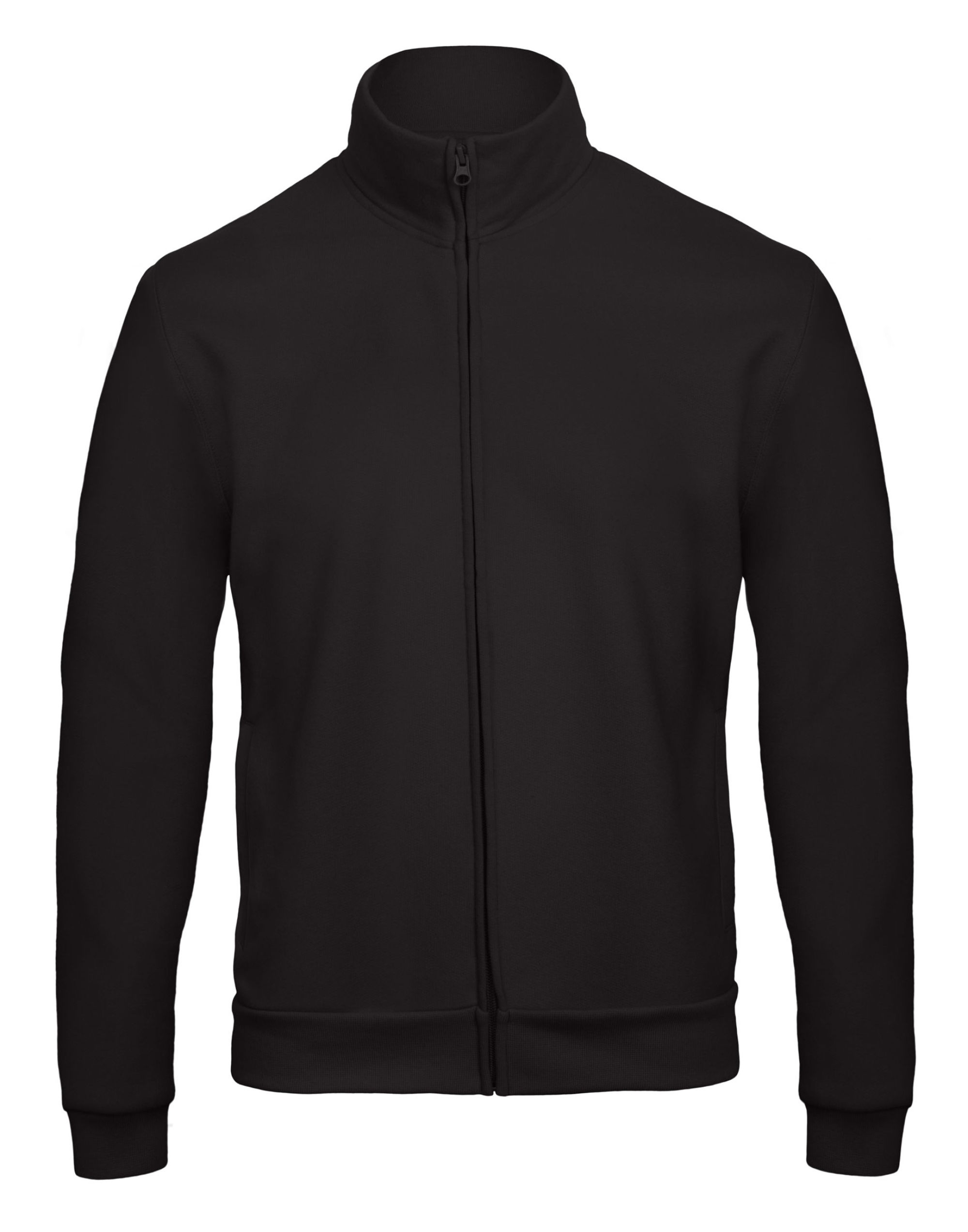 B&c Id206 50/50 Full Zip Sweat Jacket