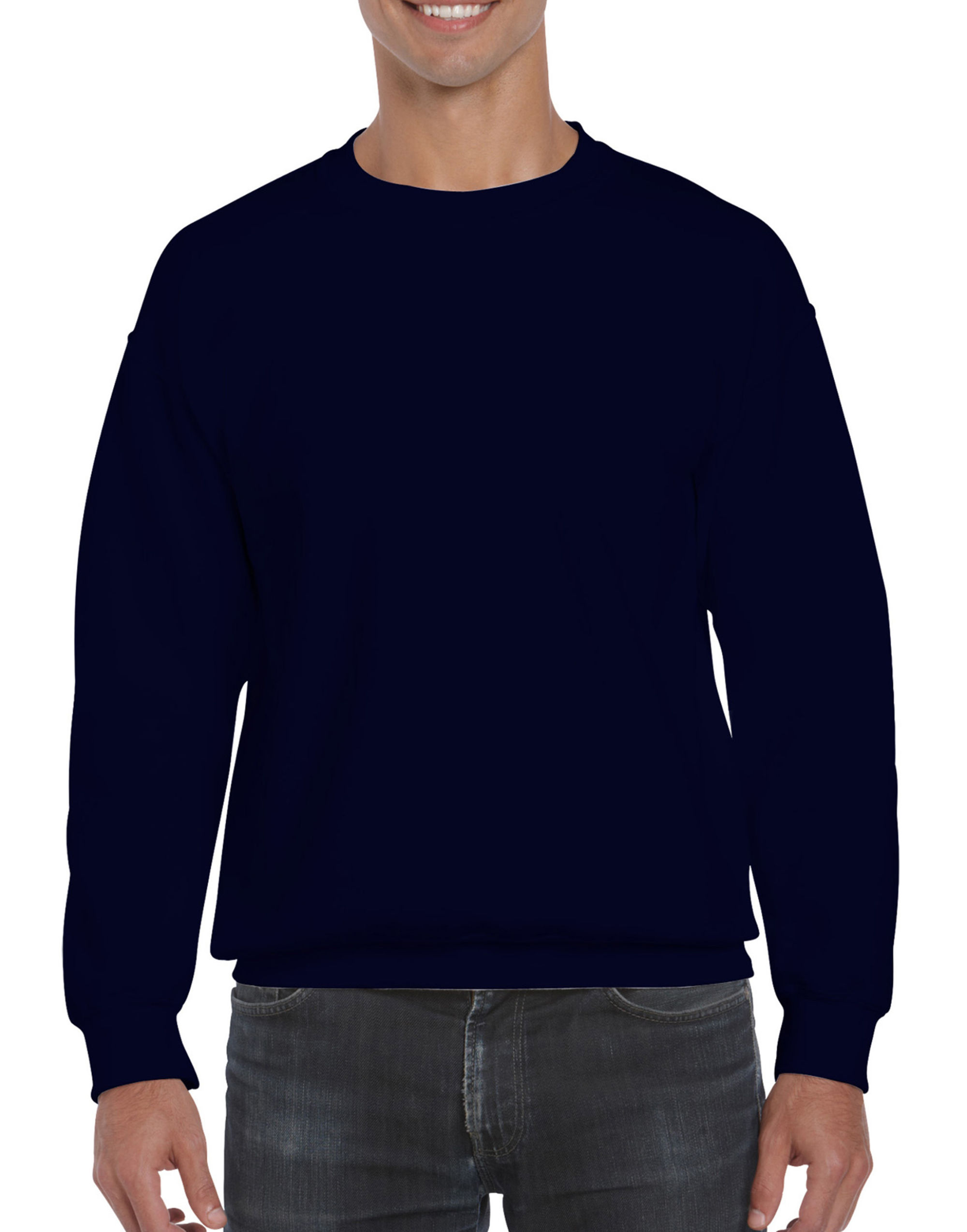 DryBlend Adult Set-In Sweatshirt