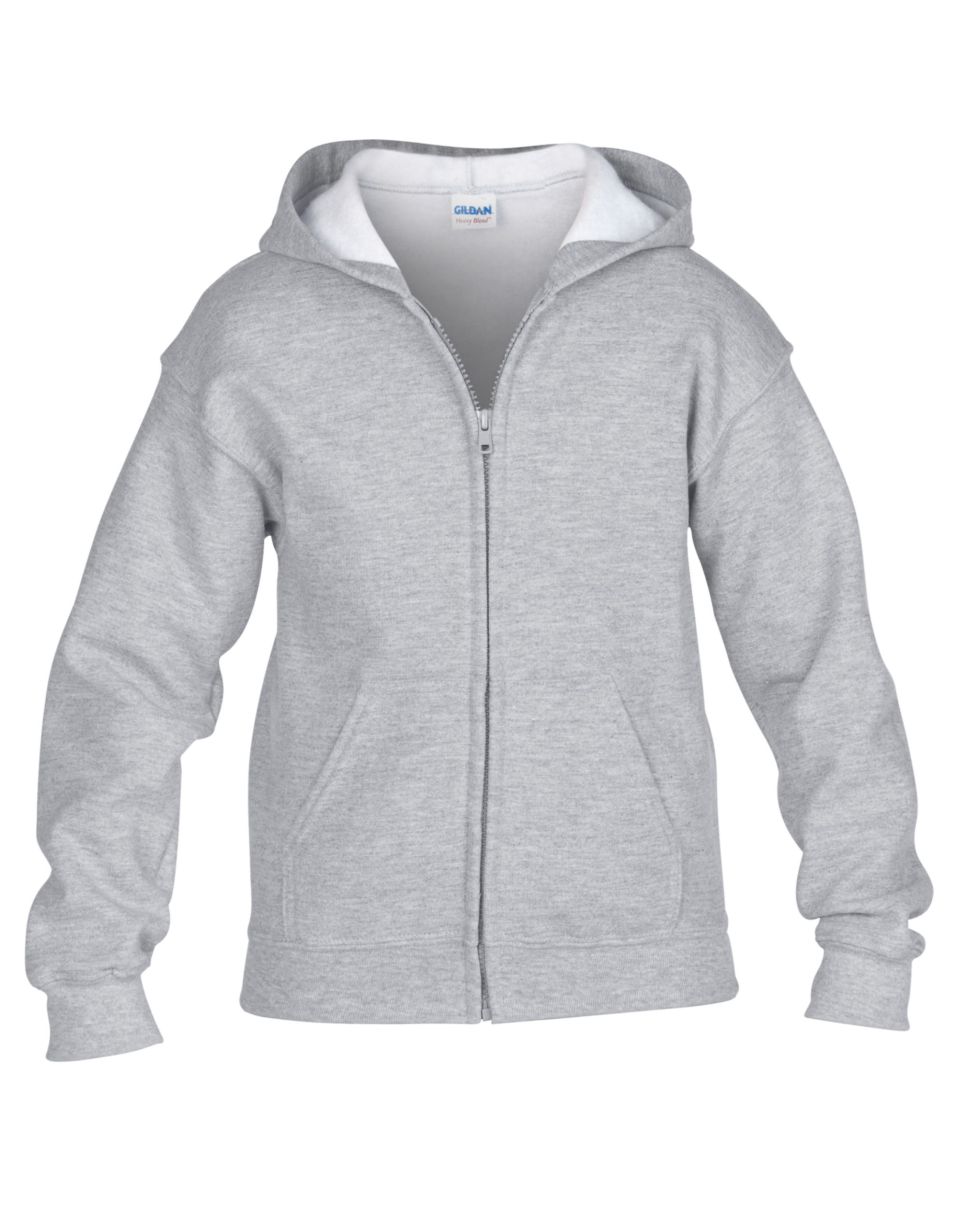 Children's Zipped Hooded Sweat