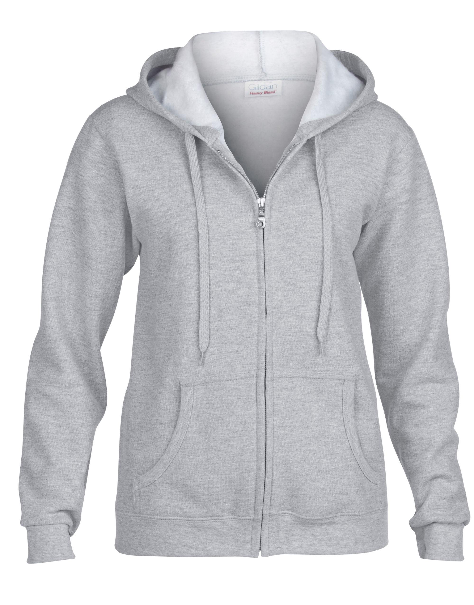Heavy Blend Ladies' Fulll Zip Hood Sweat