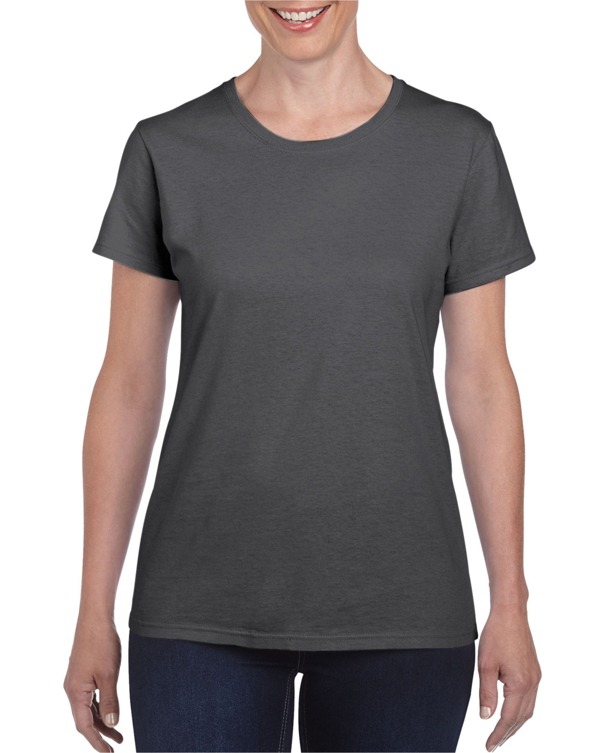 Ladies Heavy Cotton Missy Fit Tee