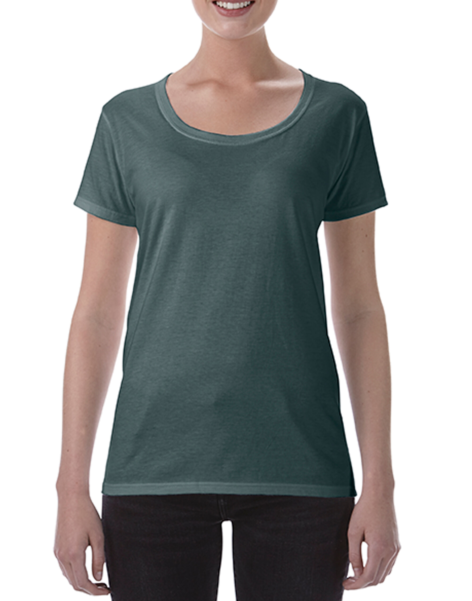Ladies Deep Scoop Tee