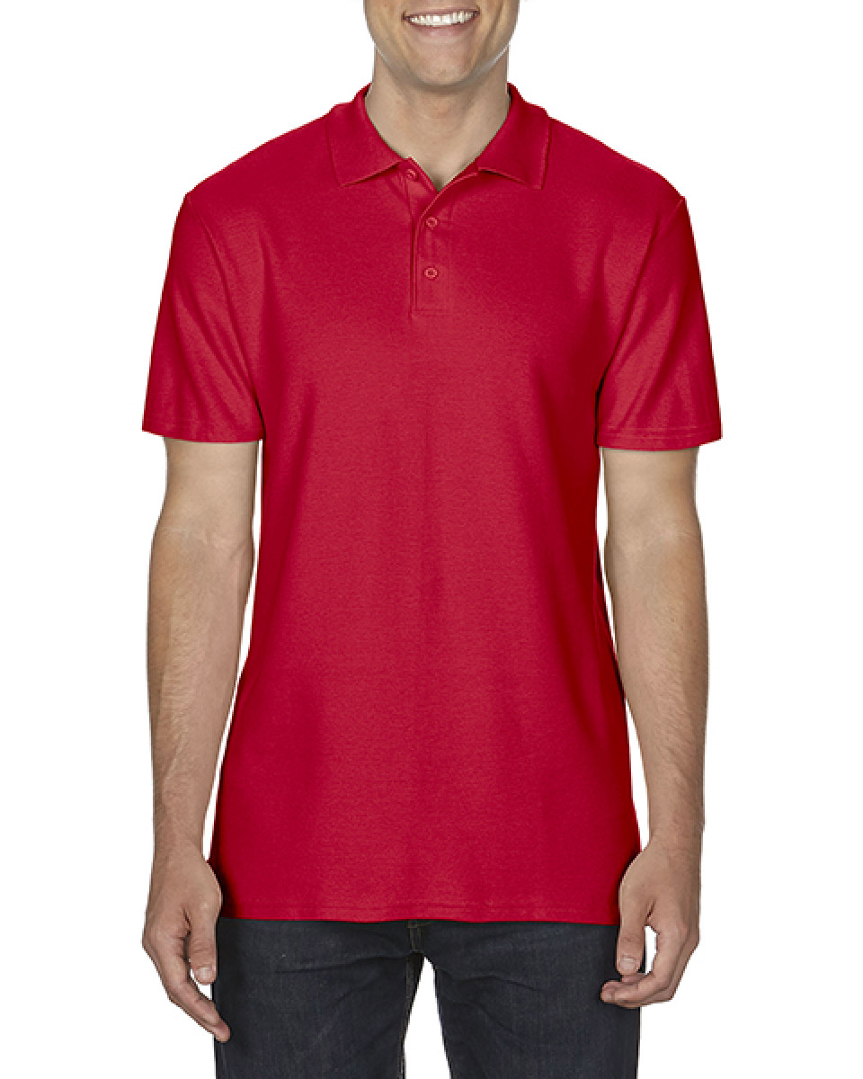 Softstyle Adult Double Pique Polo