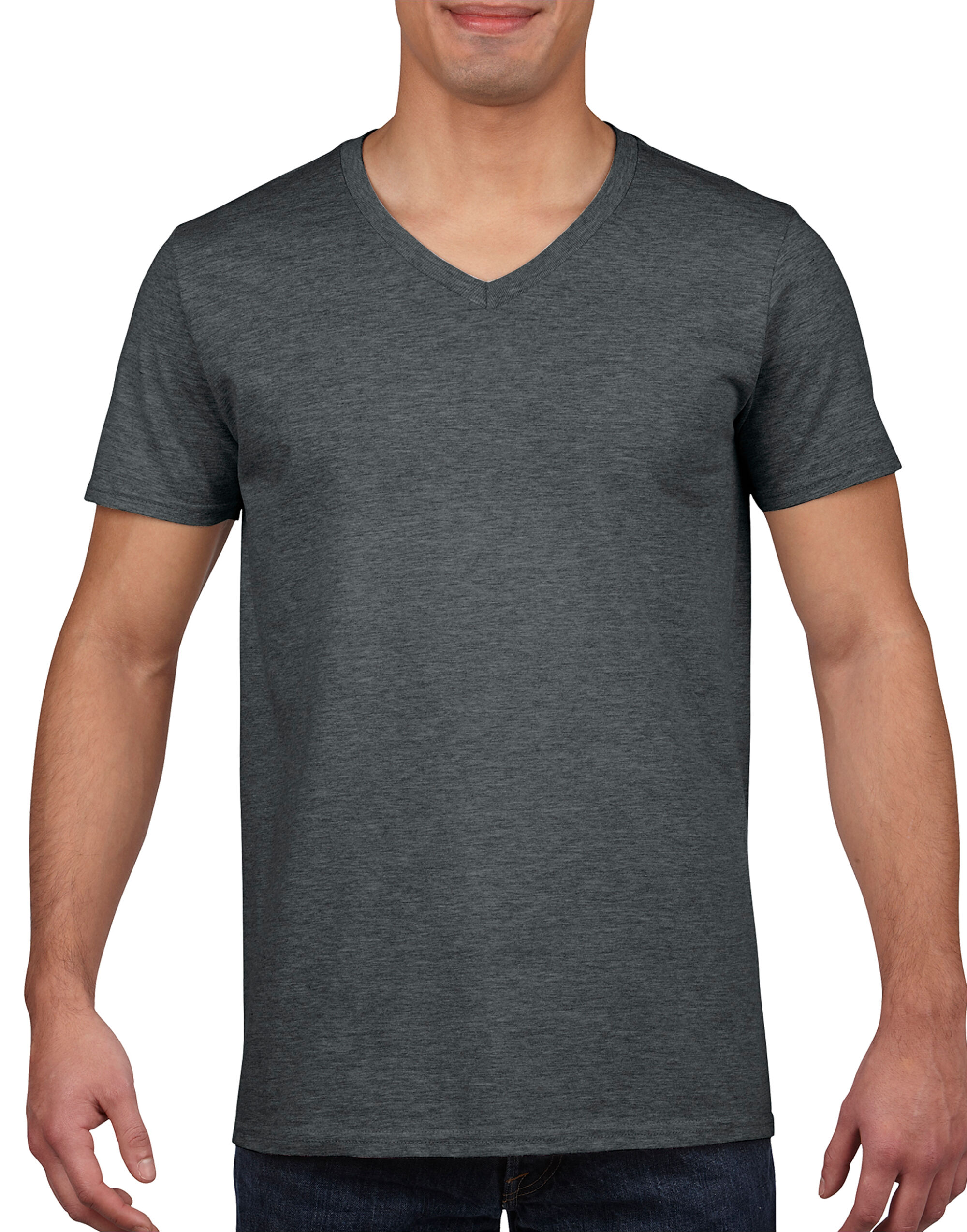 Mens Soft Style V-Neck T-Shirt
