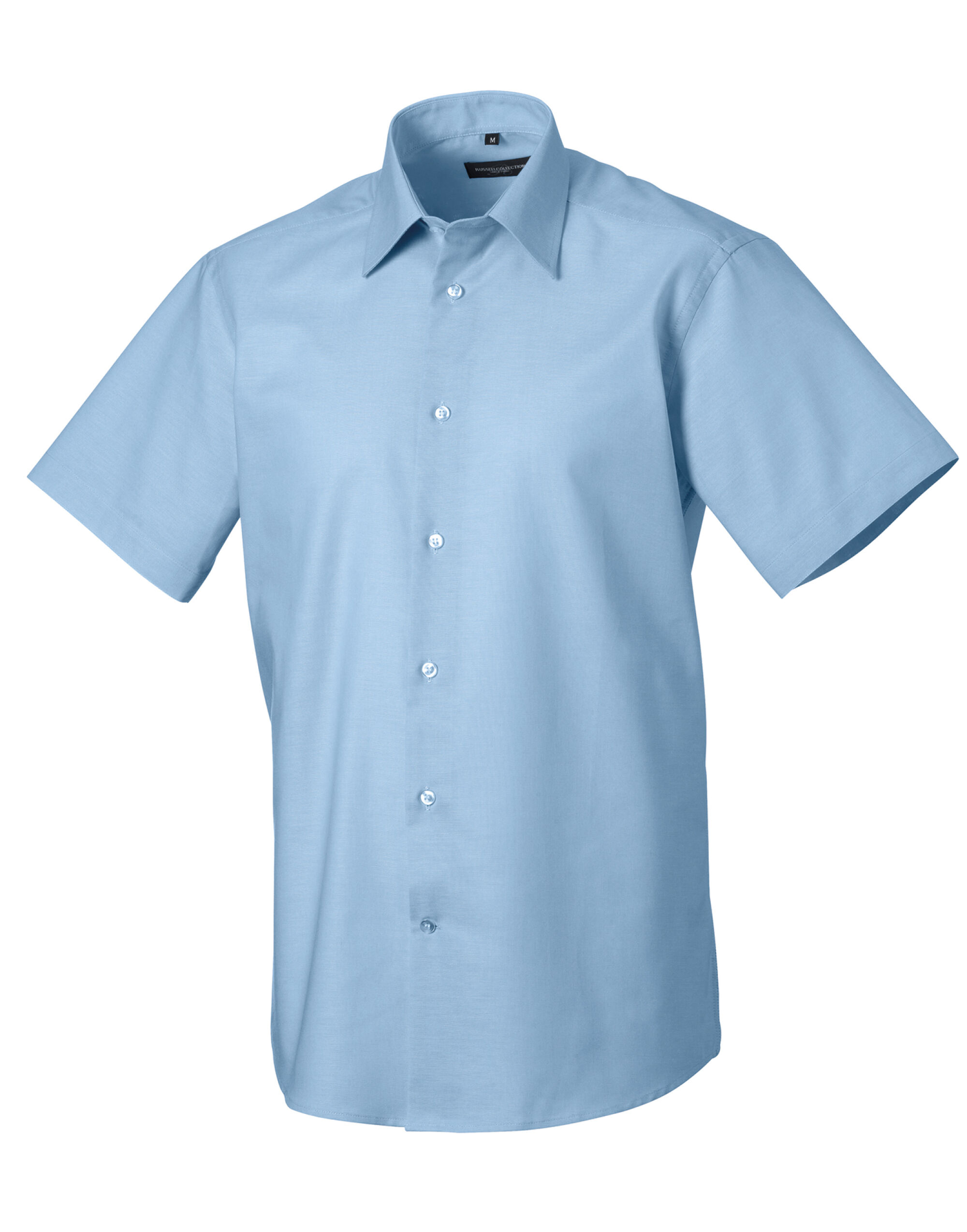 Men's Short Sleeve Easy Care Tailored Oxford Shirt