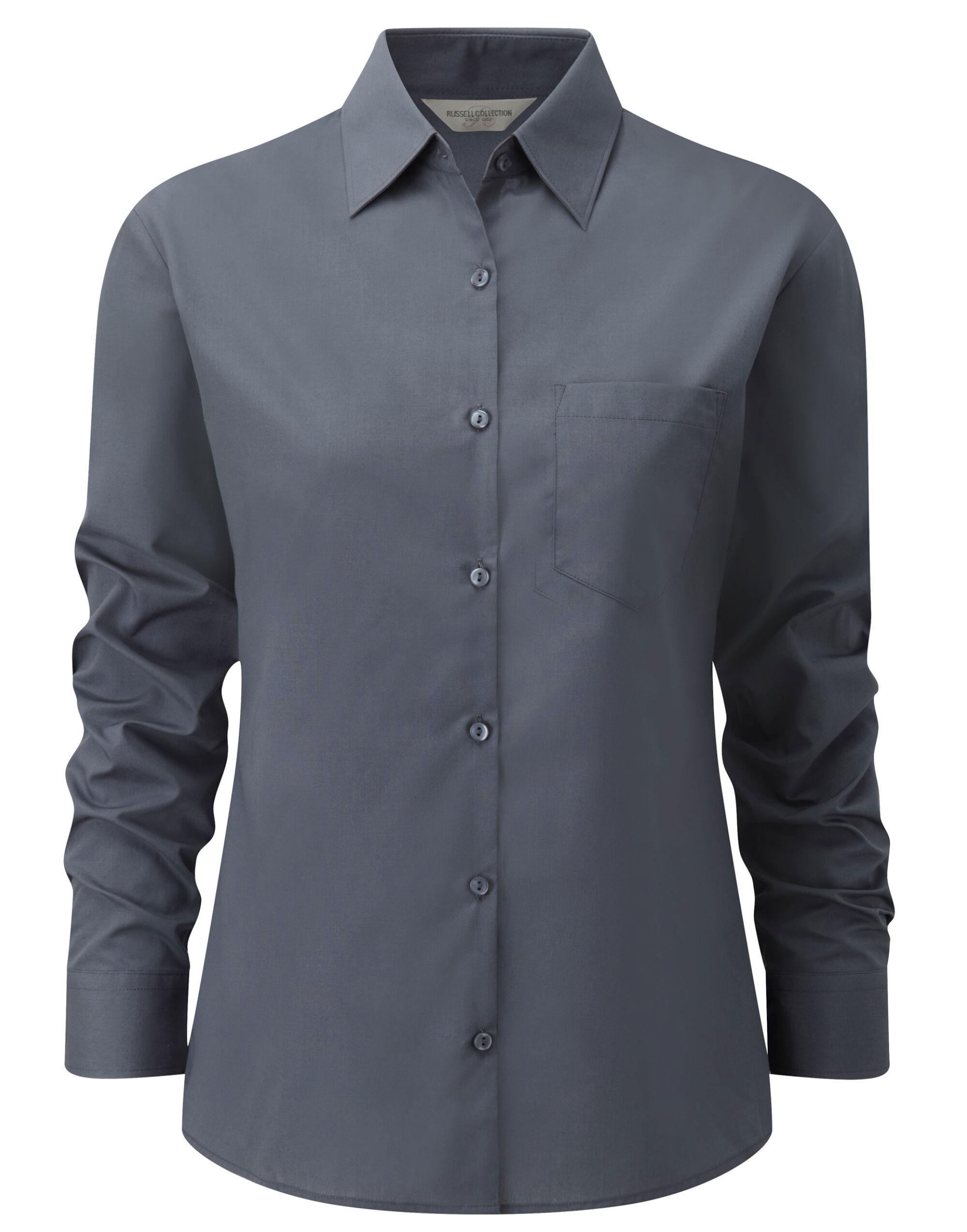Ladies L/Sleeve Shirt
