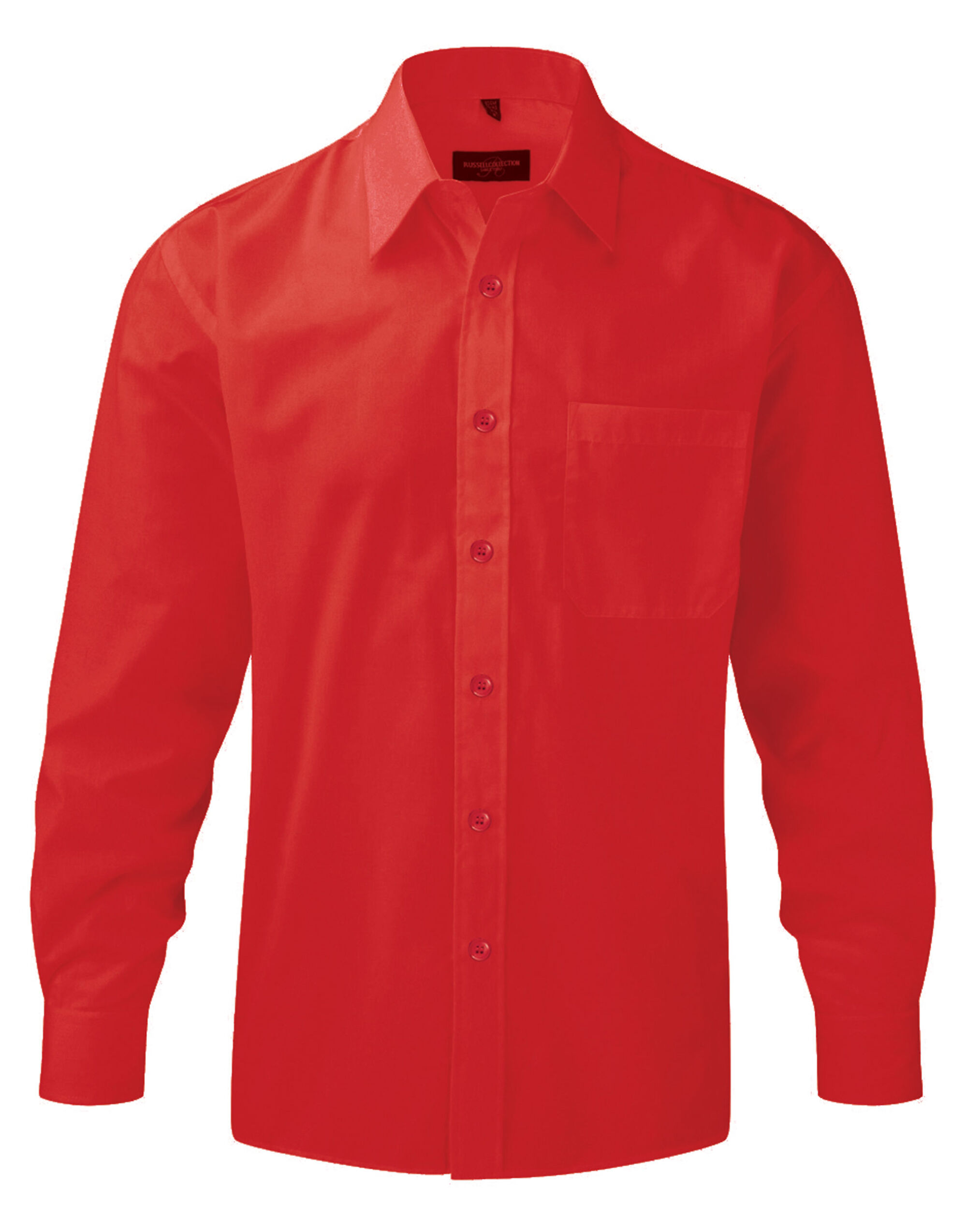 Mens L/S Poplin Shirt