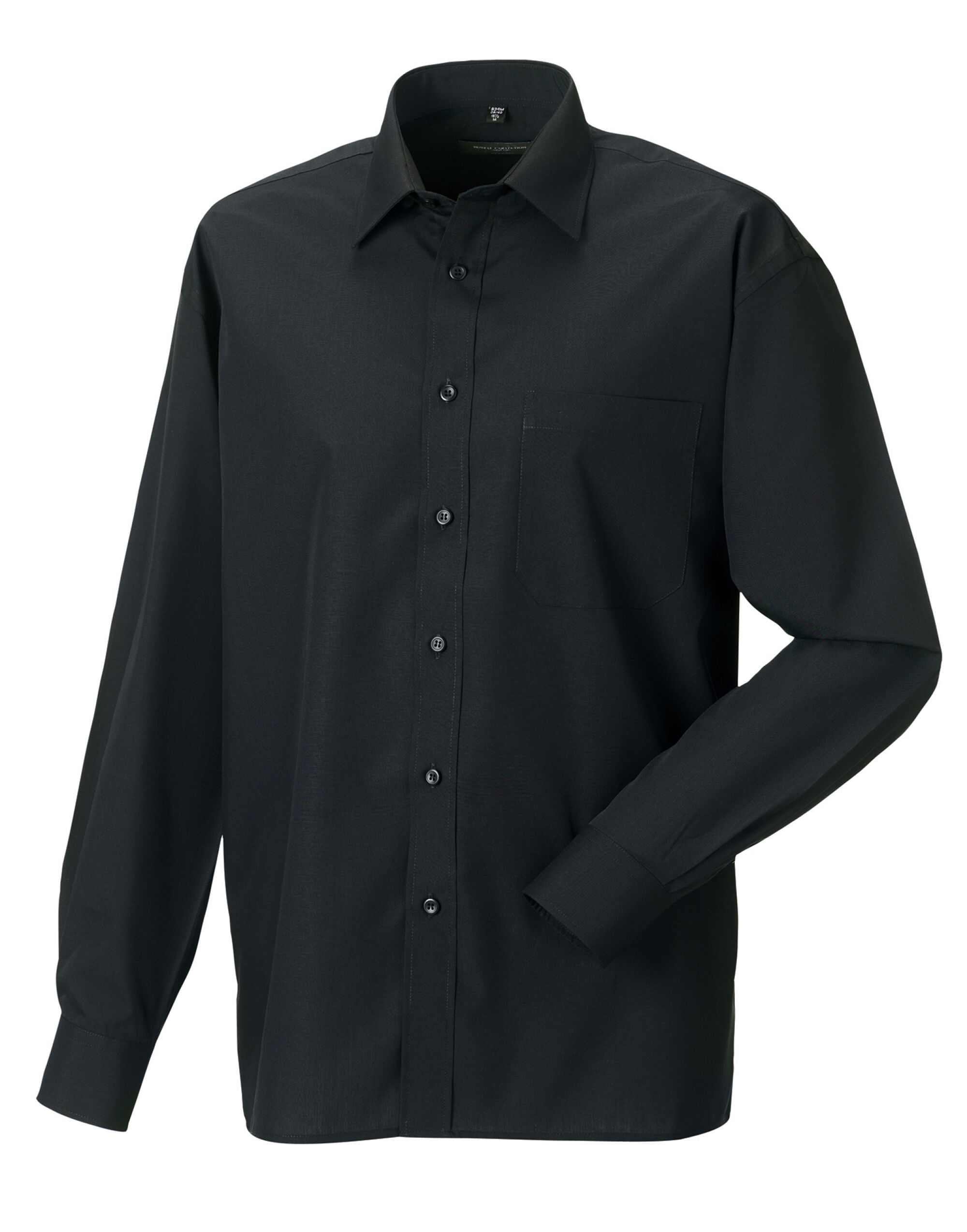 Men's Long Sleeve Easy Care Poplin Shirt