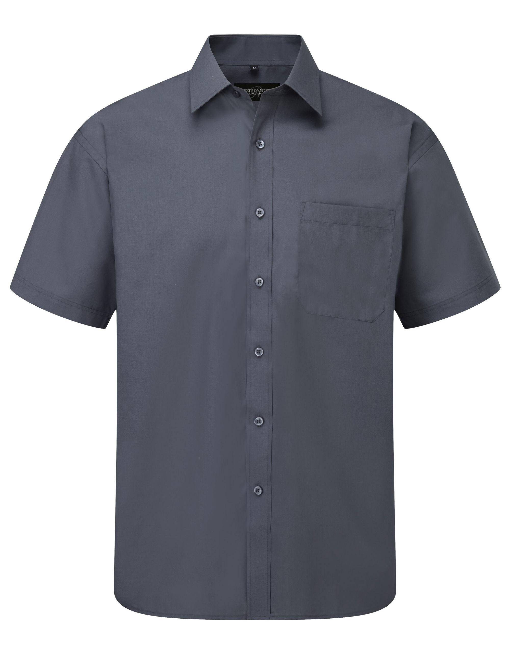 Mens Poplin Shirt