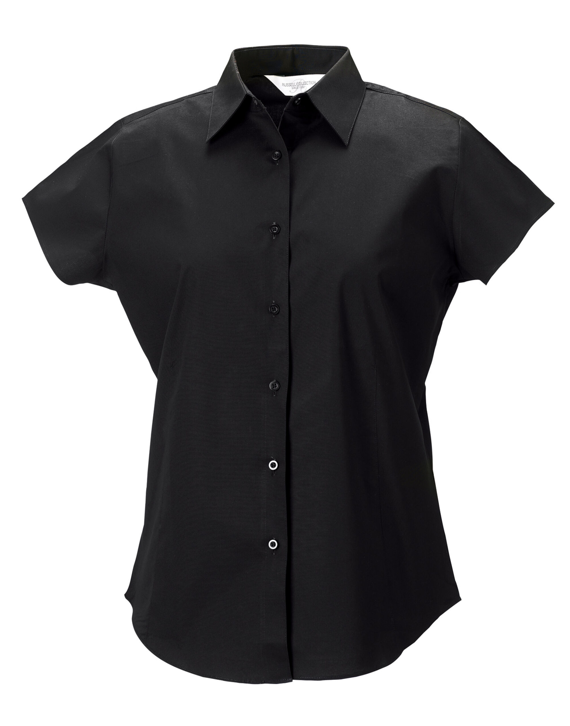 Ladies' Cap Sleeve Easy Care Fitted Shirt
