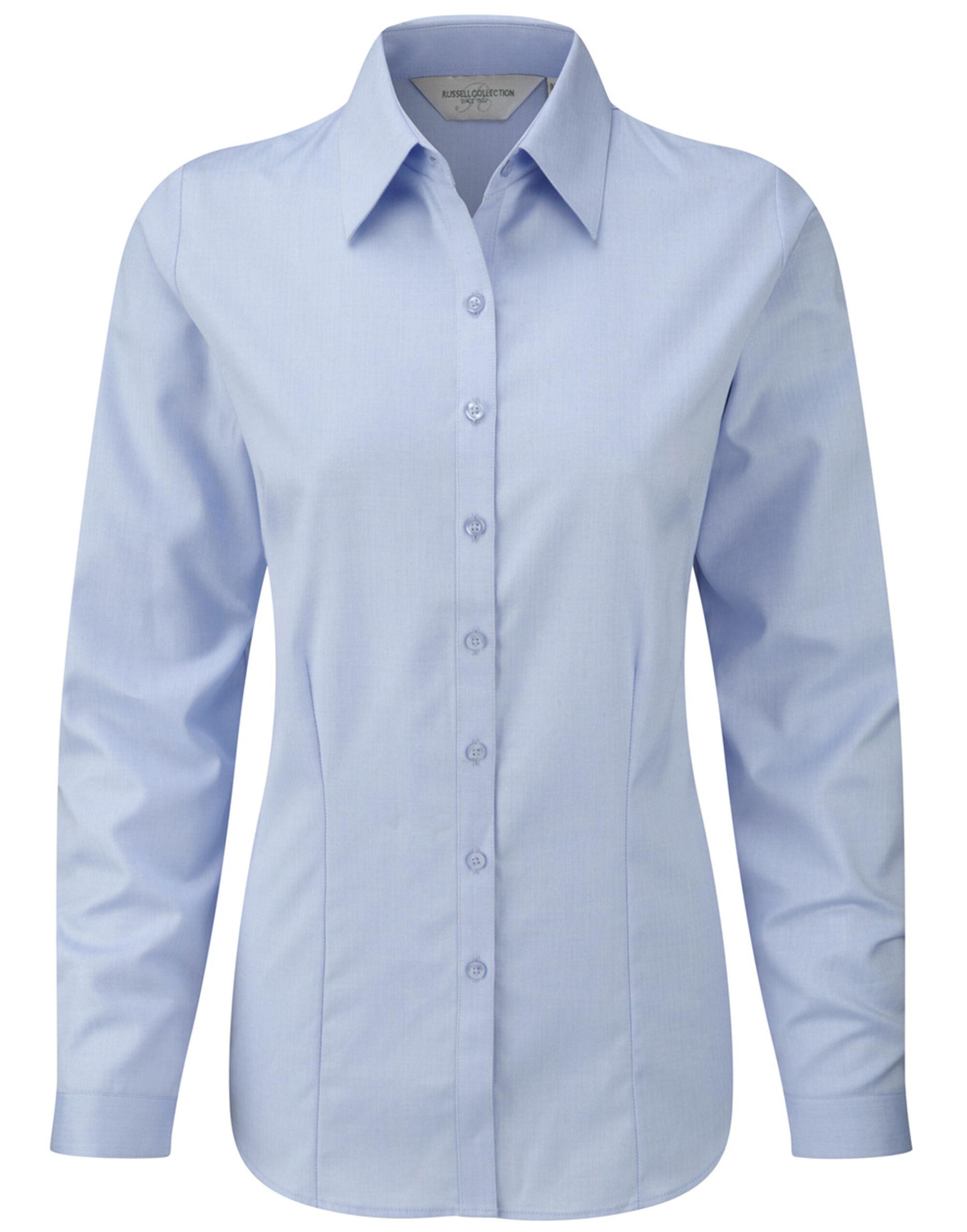 Russell Colelction Ladies H'Bone Shirt