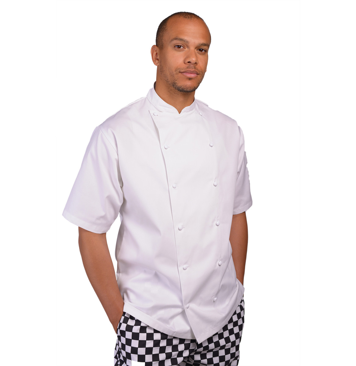 Mens Executive S/S Chefs Jacket