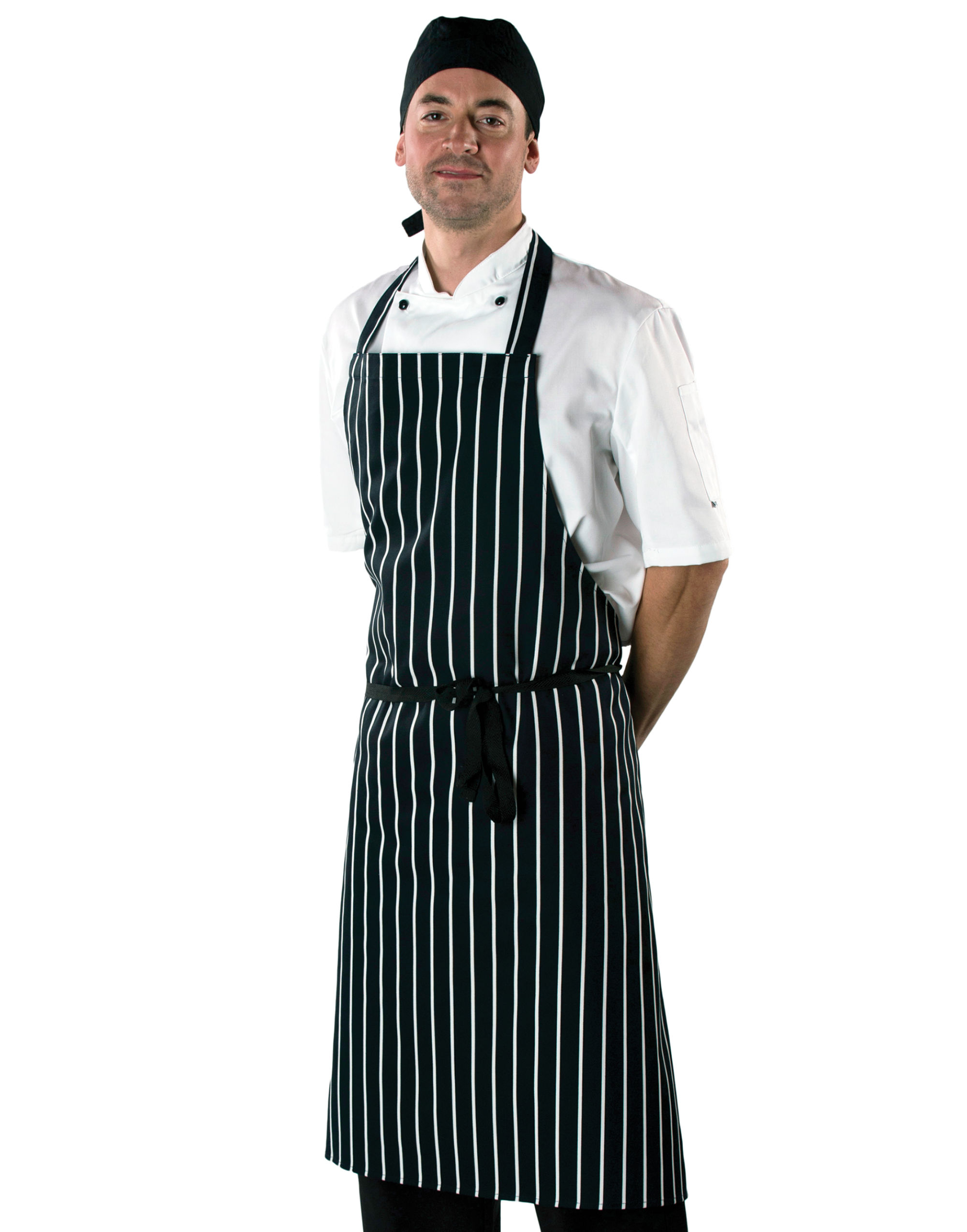 Cotton Striped Butchers Apron