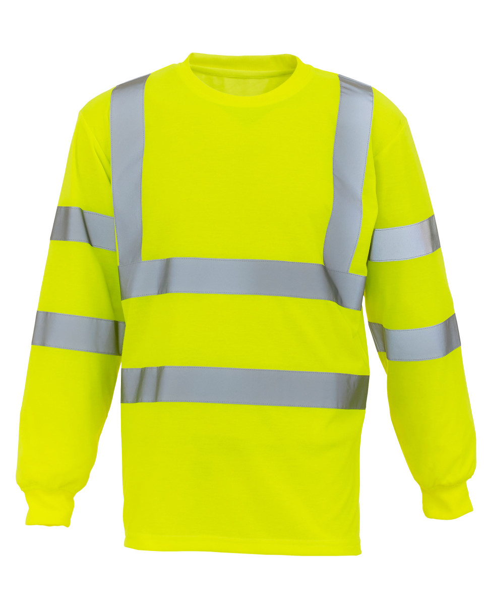 Hi Vis Long Sleeve Tee