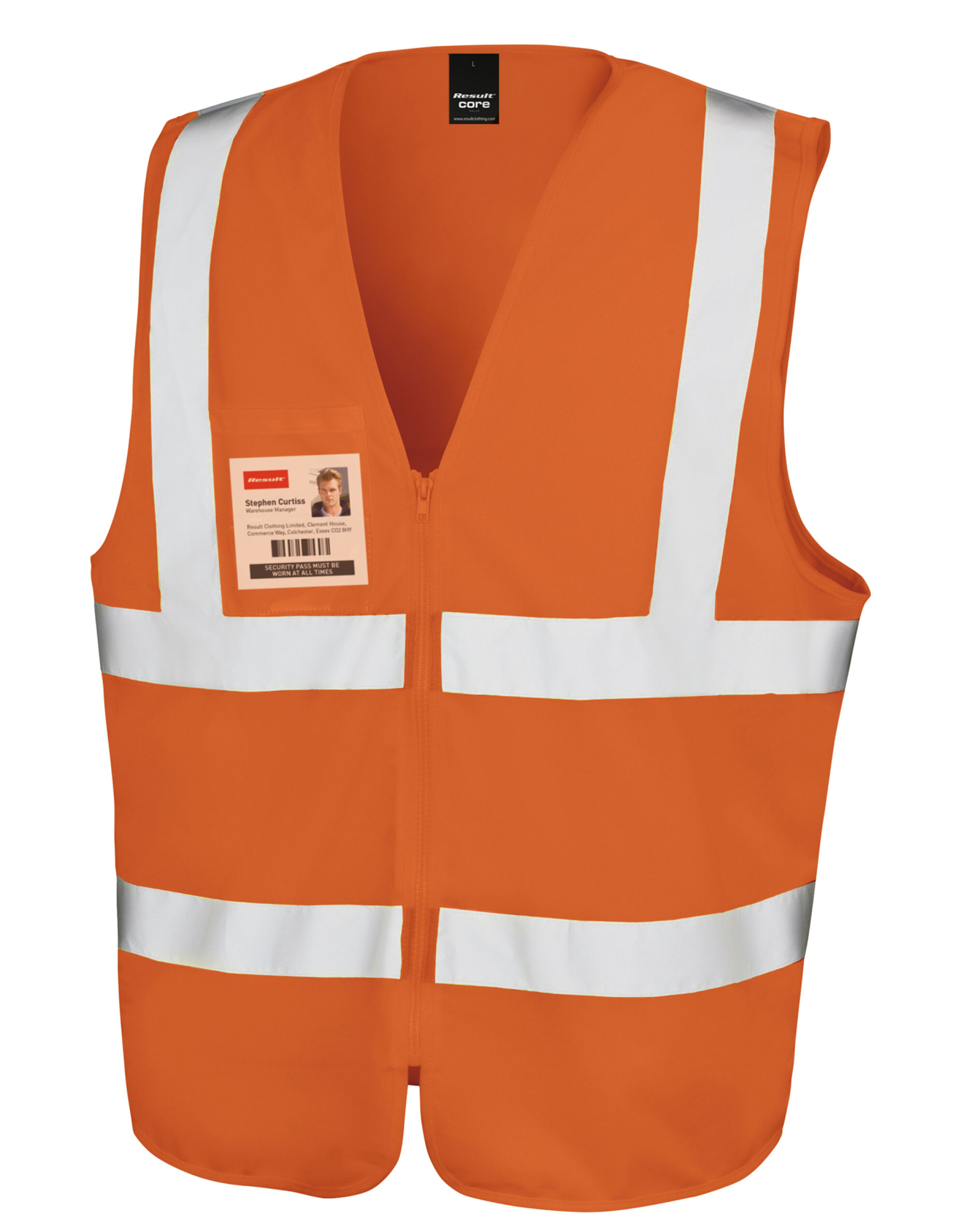 Result Safe-Guard Zip Safety Tabard