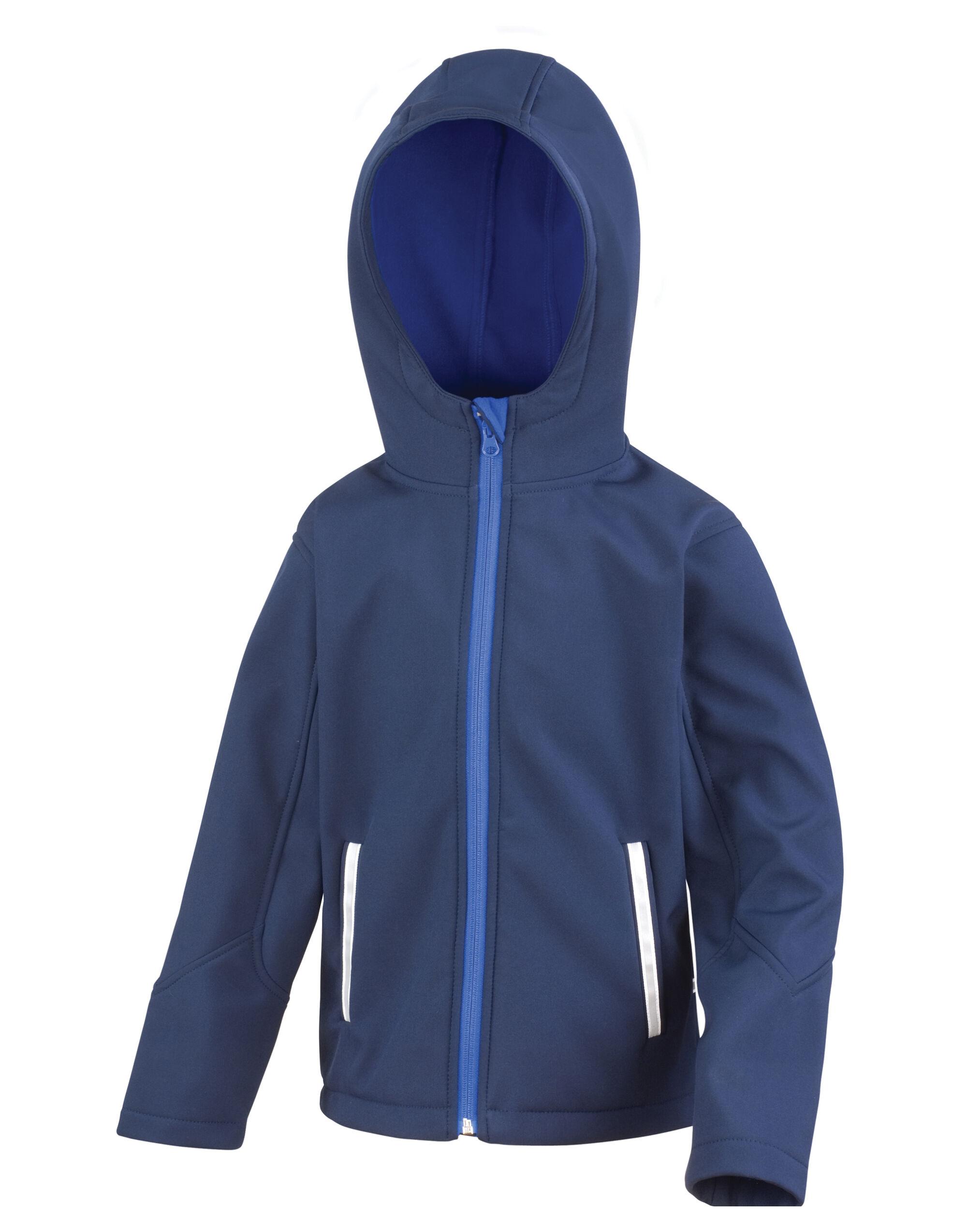 Junior Hooded Softshell Jkt