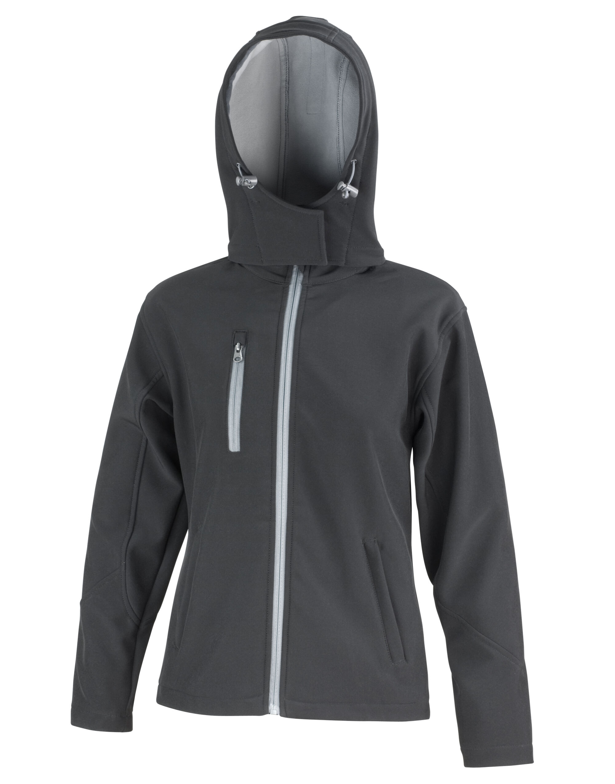 Ladies Lite Hooded Softshell