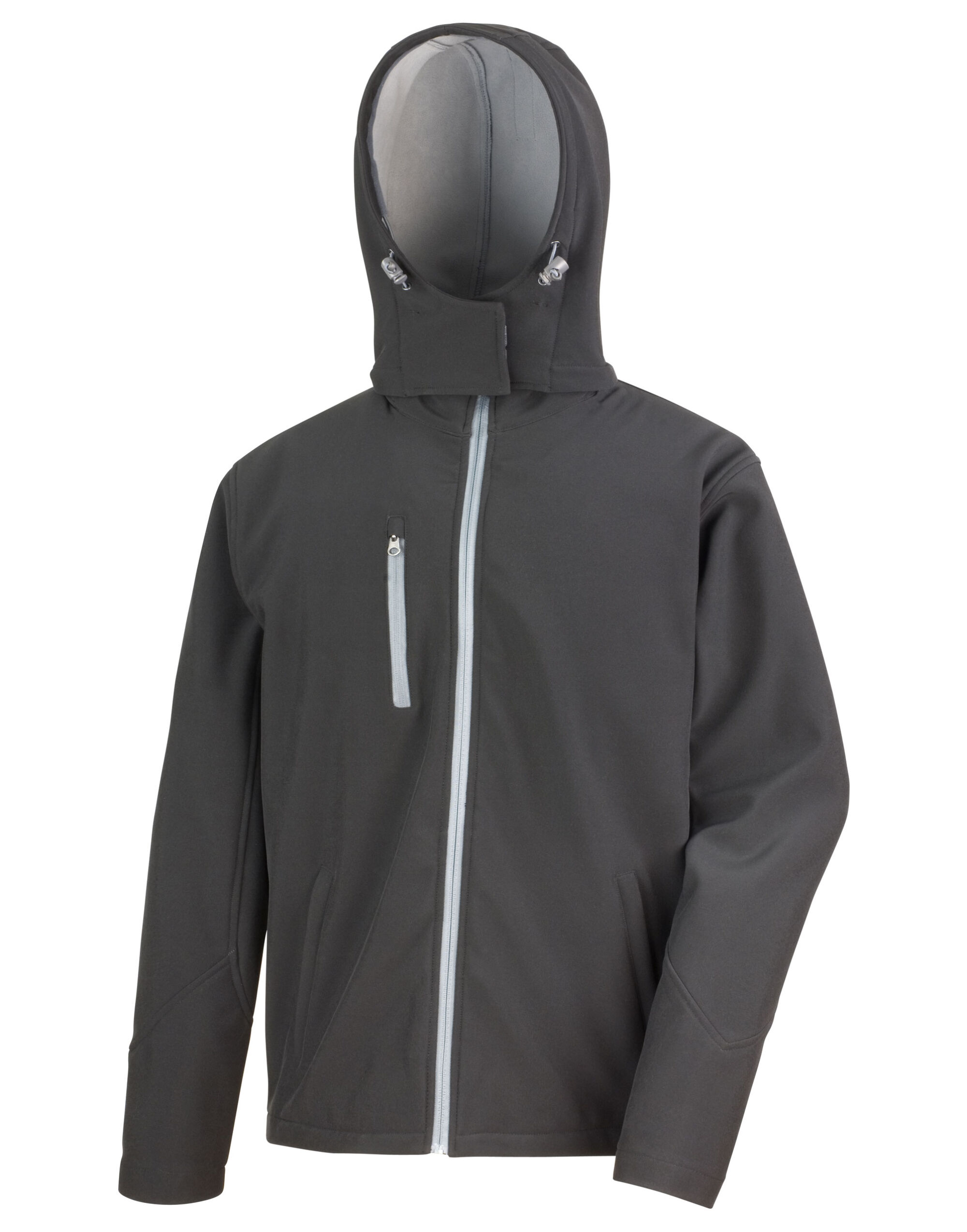 Mens Lite Hooded Softshell