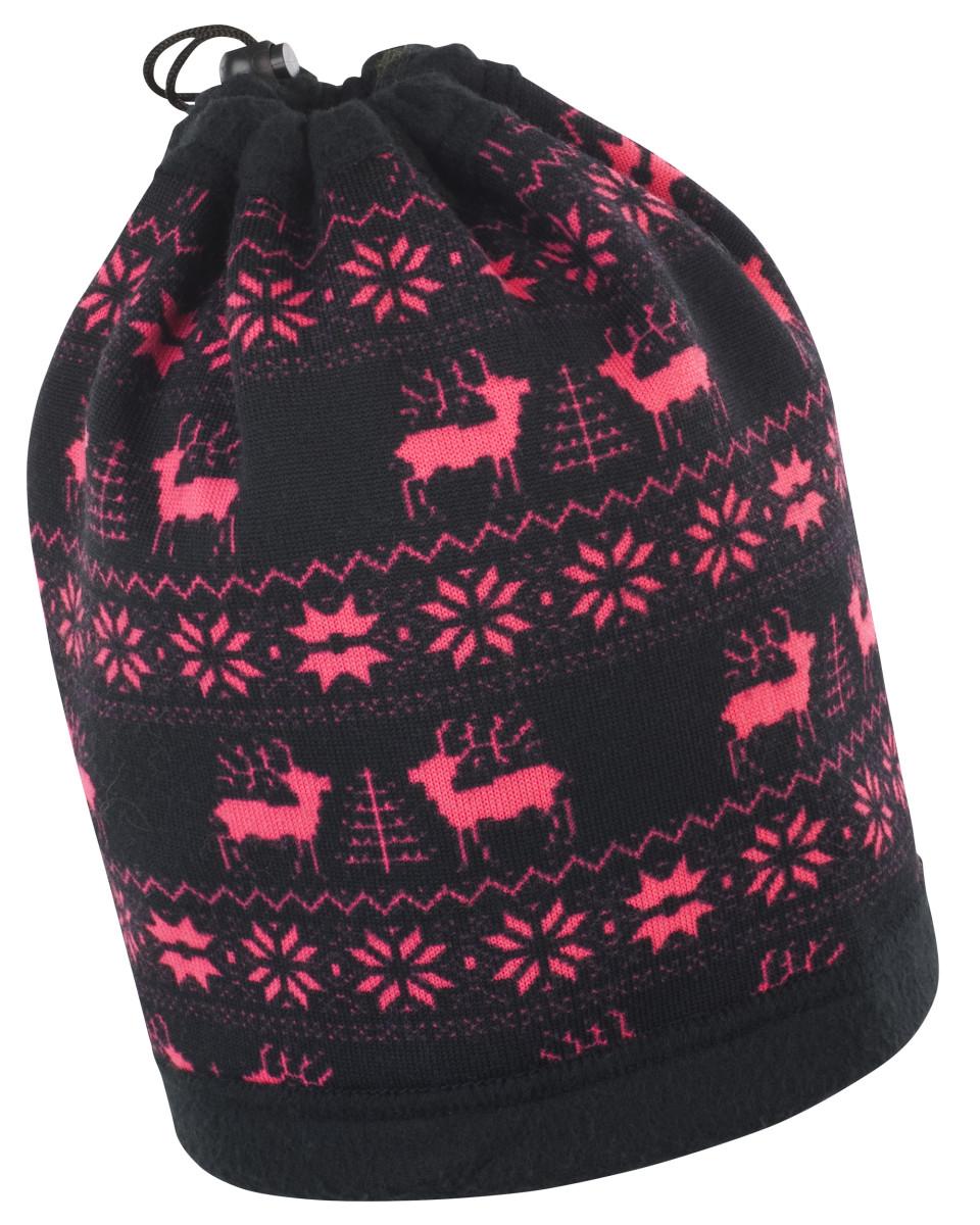 Result Winter Reindeer Snood Hat