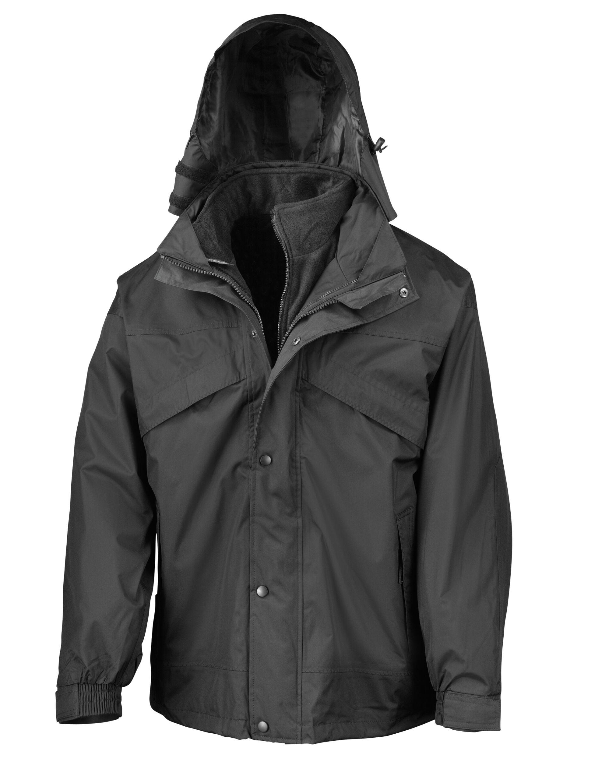 3 in 1 Zip and Clip Jacket