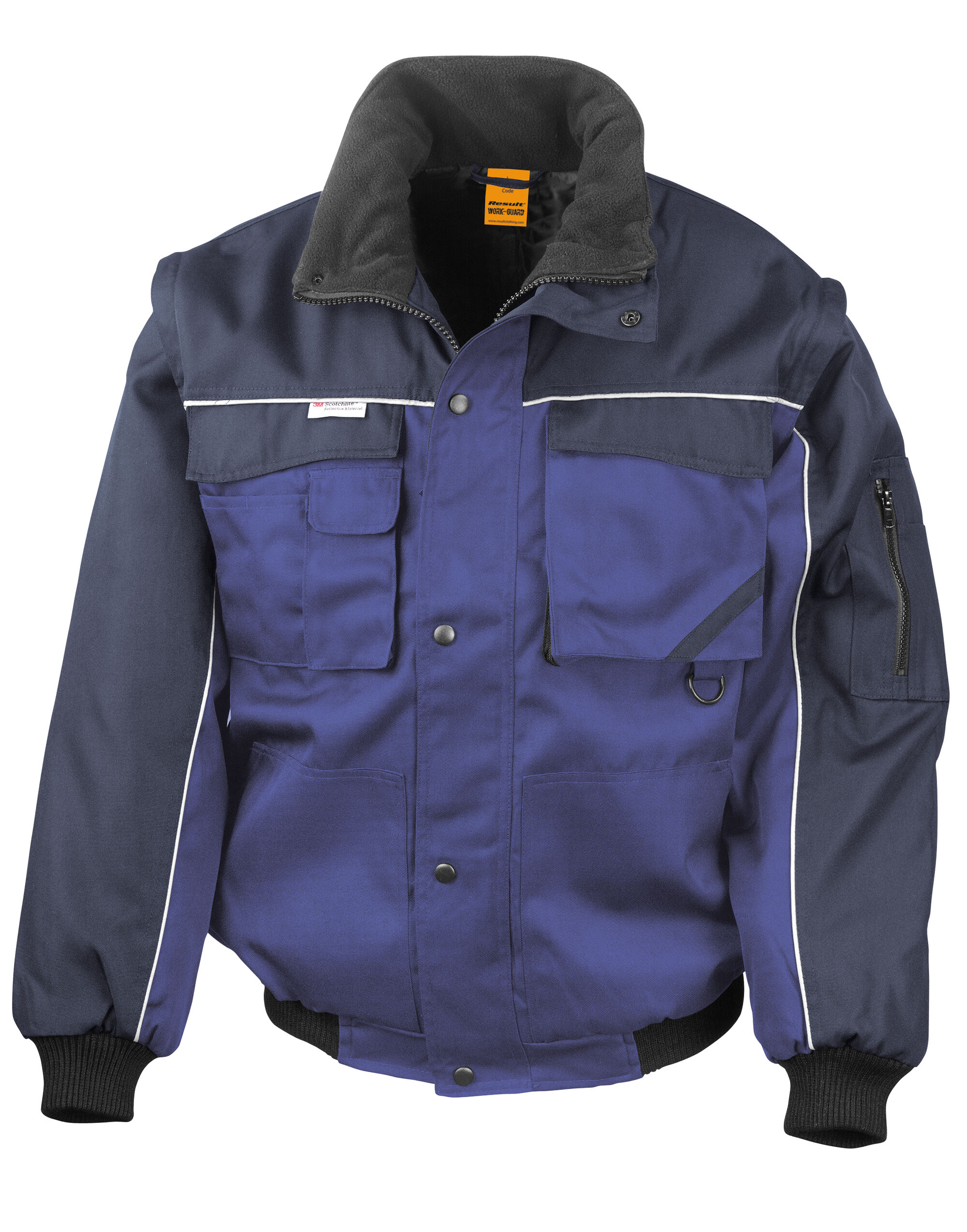 Workgaurd Zip Sleeve Heavy Duty Jacket
