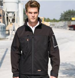 (R302X) Result Workguard Sabre Stretch Jacket Black Size XL