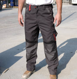 (R310XR) Result Workguard Technical Trousers(reg) Grey/Black Size 42