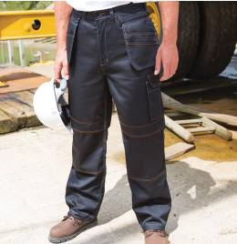 (R323X) Result Workguard Lite Holster Trousers Black Size L