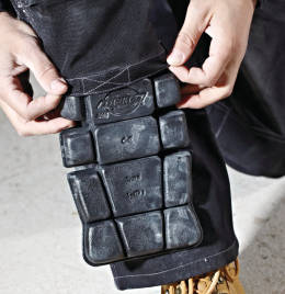 (SA66) Grafter Knee Pads Black Size O/S