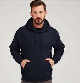 (UCC006) Heavy Full Zip Polar Fleece Navy Blue Size S