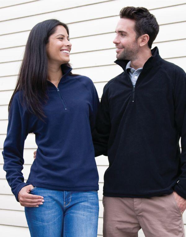 (R112X) Core Micron Fleece Black Size 3XL