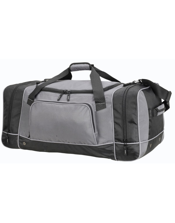 Image for (SH2698) Chicago Giant Holdall Bag Grey/Black Size O/S