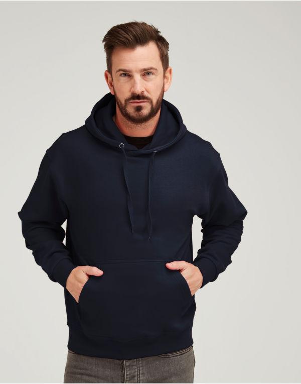 (UCC006) Heavy Full Zip Polar Fleece Black Size 2XL